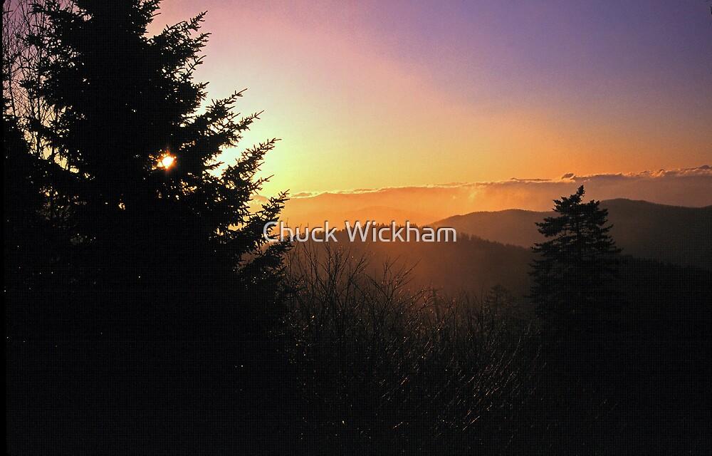 SUNRISE,CLINGMANS DOME by Chuck Wickham