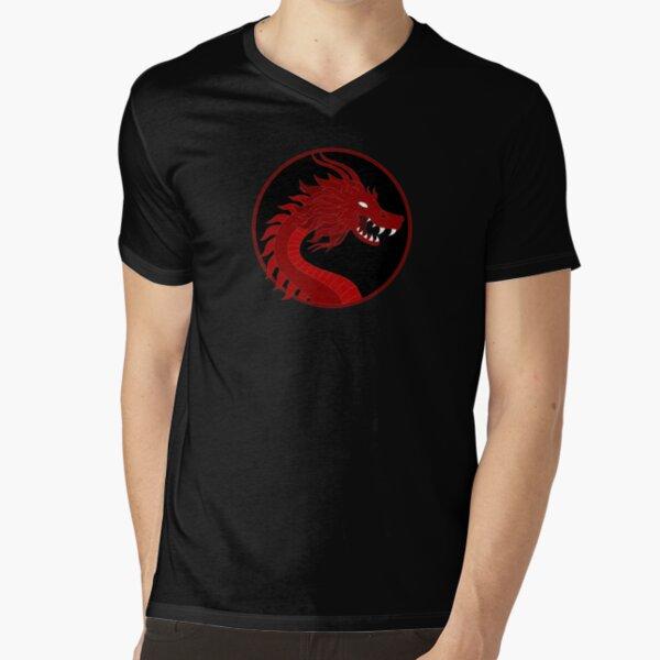 Dragon V-Neck T-Shirt