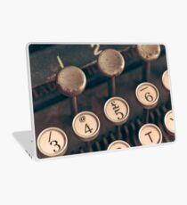 Vintage Typewriter Laptop Folie