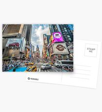 Times Square Traffic Postcards