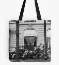 Bolsa de tela Versace Boutique