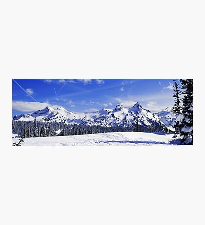 Beautiful Tatoosh Mountain Range Photographic Print