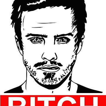 Jesse Pinkman - Bitch by nerdwaren