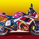 Bronco Bike by Keith Hawley