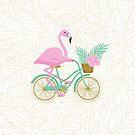 «Tropical Flamingo Bike» de miavaldez
