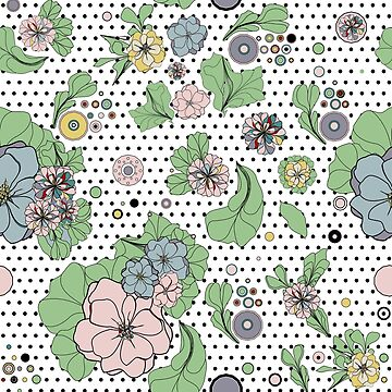 floral pop retro by arrpdesign