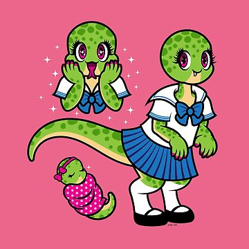 Cute Dinosaur Girl by Jennifer-Smith
