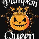 Pumpkin Queen Halloween Gift by lifestyleswag