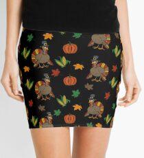Thanksgiving Turkey pattern Mini Skirt