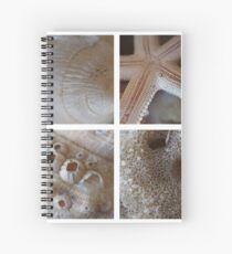 SeaShells-Montage Spiral Notebook