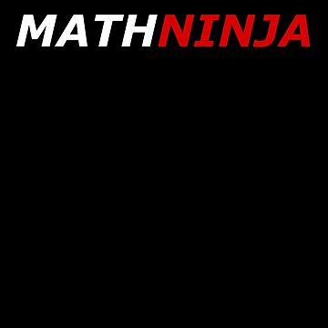 Math-Ninja- Funny Maths Joke by the-elements