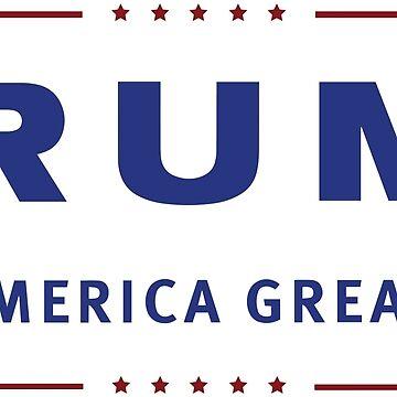 Trump Make America Great Again by Lowdey