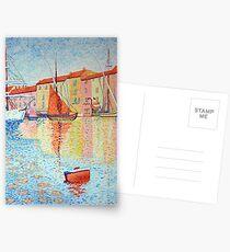 Red Buoy, Study of Paul Signac. Postcards
