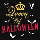 Queen of Halloween Gift by lifestyleswag