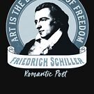 Art is the Daughter of Freedom Friedrich Schiller by AntiqueImages