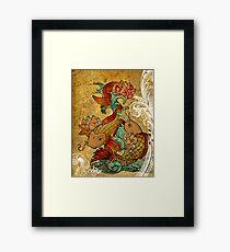 Koi (version2) Framed Print
