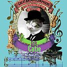Erik Catie Cool Classical Music Parody Satie Cat by AnimalComposers