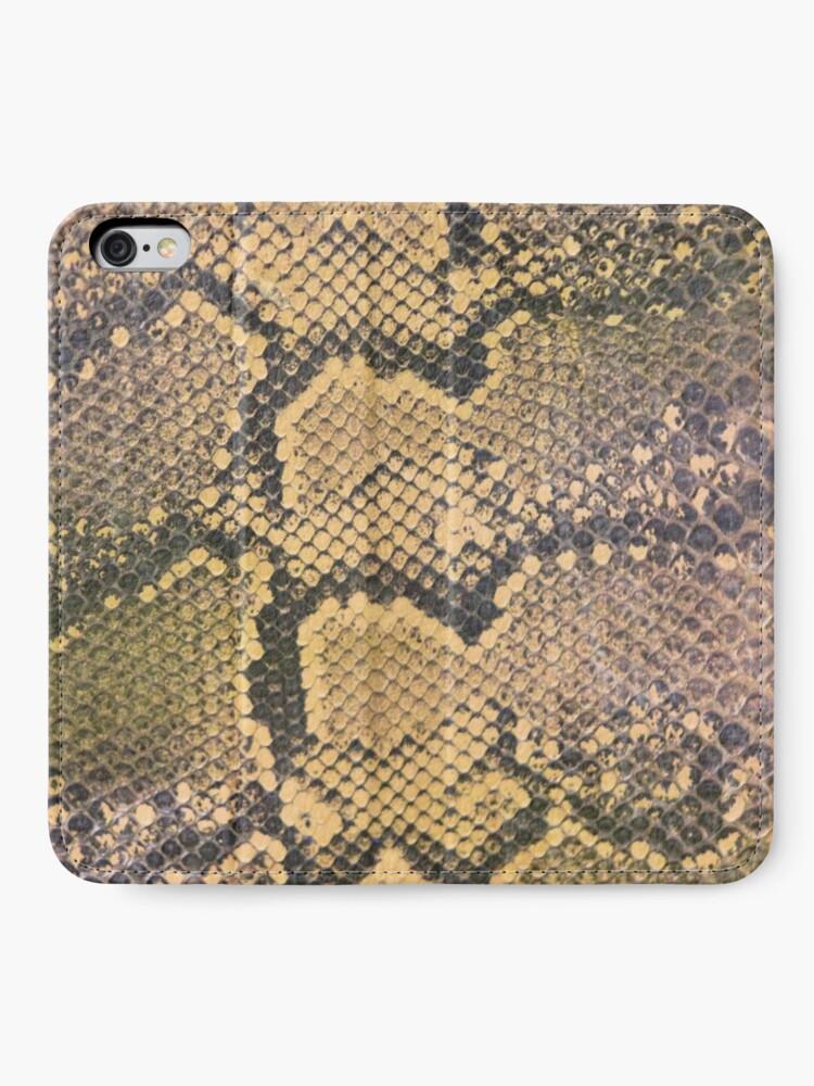 Alternate view of Snakeskin iPhone Wallet
