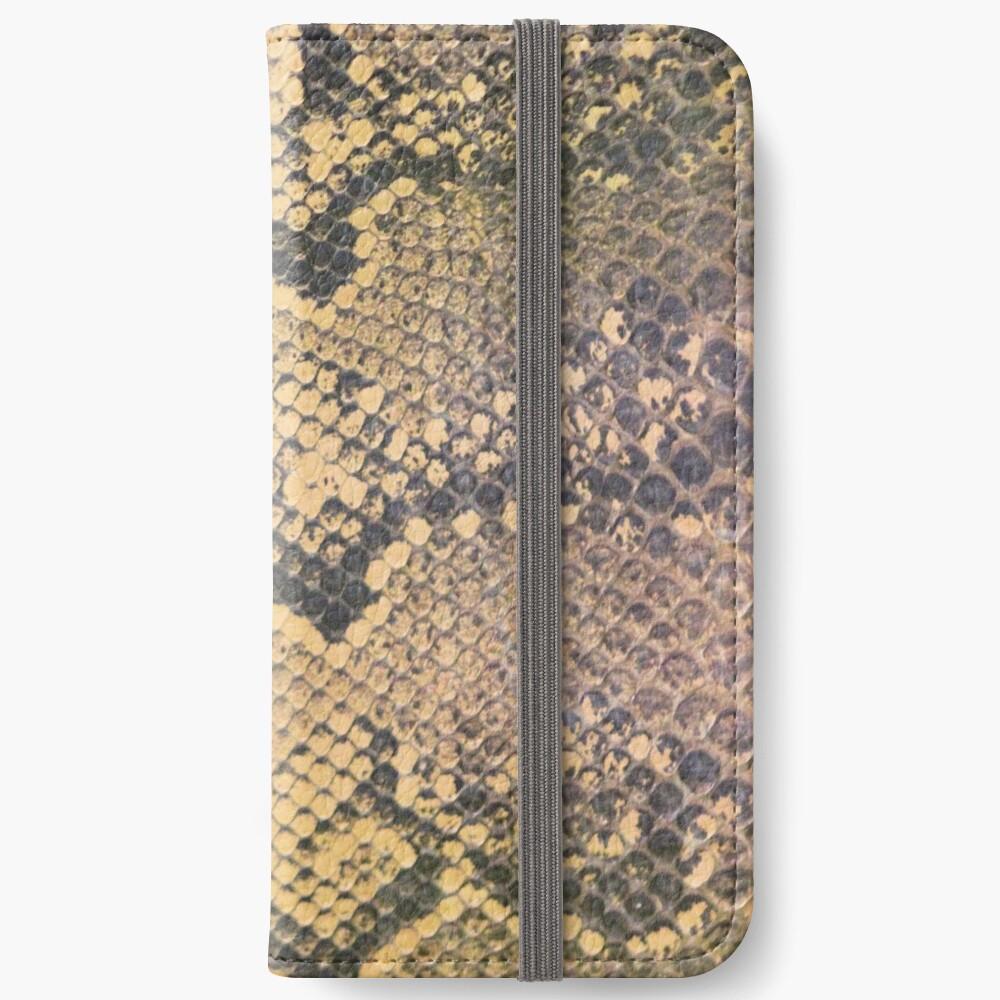 Snakeskin iPhone Wallet