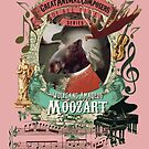 Wolfgang Amadeus Moozart Classical Music Mozart Moose by AnimalComposers