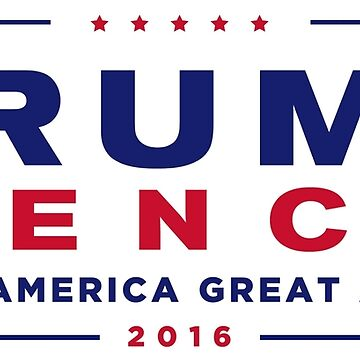 Trump Pence by Lowdey
