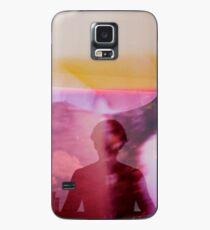 Portrait woman fantasy analog film double exposure Case/Skin for Samsung Galaxy