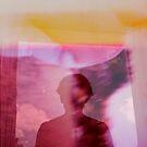 Portrait woman fantasy analog film double exposure by edwardolive