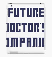 Doctor Who- Future Doctor's Companion iPad Case/Skin