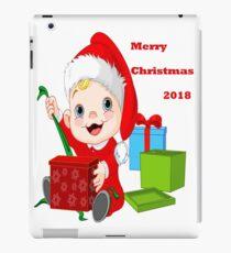 Merry Christmas 2018 iPad Case/Skin
