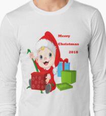 Merry Christmas 2018 Long Sleeve T-Shirt