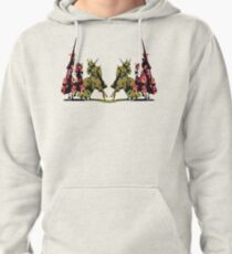four noble knights on horseback with lance and sword Pullover Hoodie