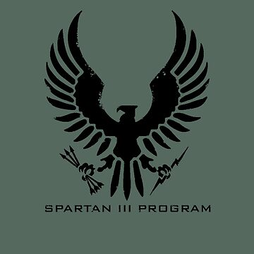 Halo Spartan III Program Insignia Weathered by teethehee