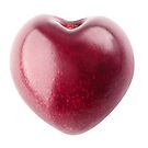 Heart shaped cherry by 6hands