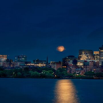 Boston August Moon by LudaNayvelt