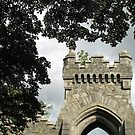 Entrance to Lews Castle Grounds, Stornoway, Western Isles von BlueMoonRose