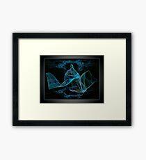 ©DA Veil Of Plasma Framed Print