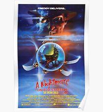 Póster Una pesadilla en Elm Street 5: The Dream Child