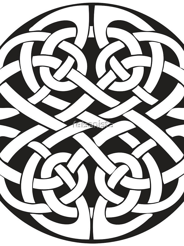 Round Celtic Knot by feisanista