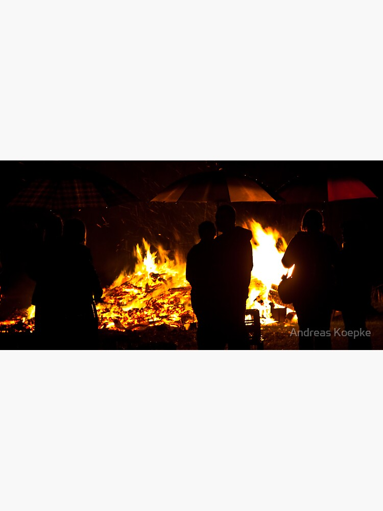 Brollies by the fire by mistered