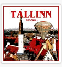 Tallinn World Tour in Estonia Sticker