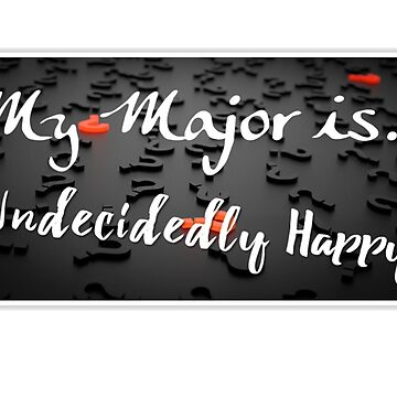 My Major Is... by jackmanlana