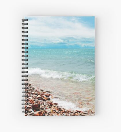 AFE Tommy Thompson Park, Beach Photography Spiral Notebook