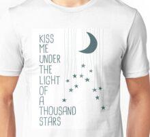 Kiss Me Under The Light Of A Thousand Stars Unisex T-Shirt