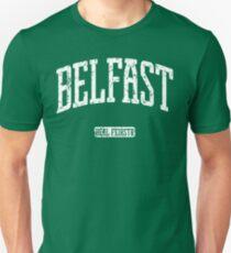 Belfast (White Print) Unisex T-Shirt