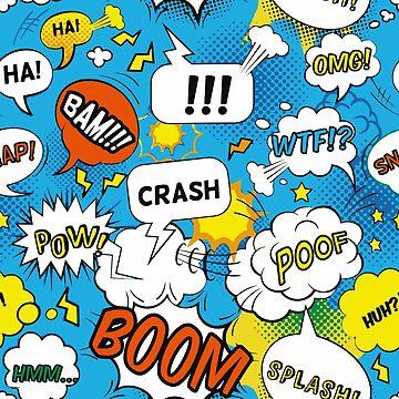 Comic Bubbles Design von webtrekker