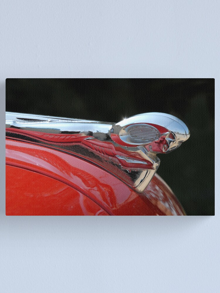Alternate view of Vintage Dodge Hood Ornament Canvas Print