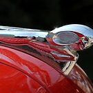 Vintage Dodge Hood Ornament by Colleen Drew