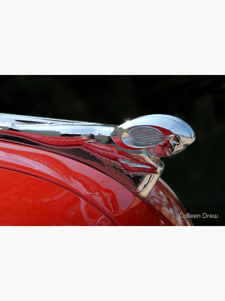 Vintage Dodge Hood Ornament by colgdrew
