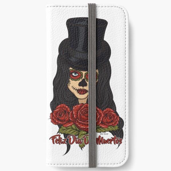 TopHat La Catrina - Dia De Los Muertos iPhone Wallet