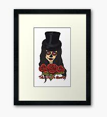 TopHat La Catrina - Dia De Los Muertos Framed Print